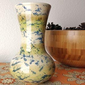 Vintage Hand Thrown Glazed Vase